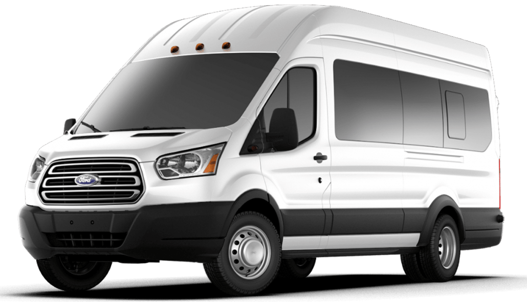 Mike Albert Rental — Ford Transit 15 Passenger Van