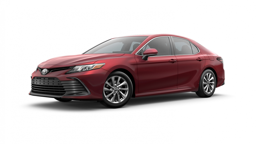 Full Size Car Rental Example: Toyota Camry LE