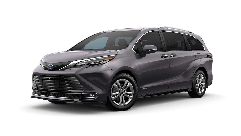 Minivan Example: Toyota Sienna Platinum AWD